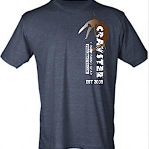 Blue-Gray Crayster Field Researcher T-shirt